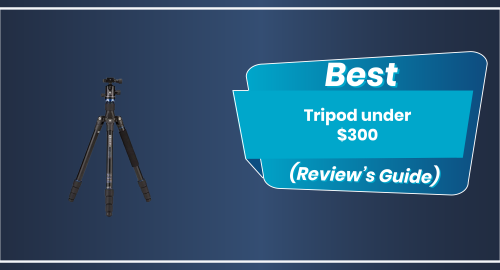 Top 5 Recommended Tripods (Updated Buyer's Guide 2021)