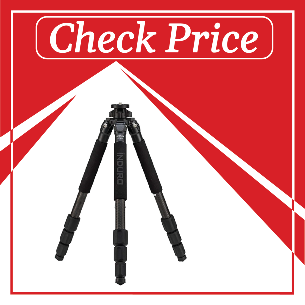 1. Induro Tripods CLT204 No. 2- best mobile tripod under 500