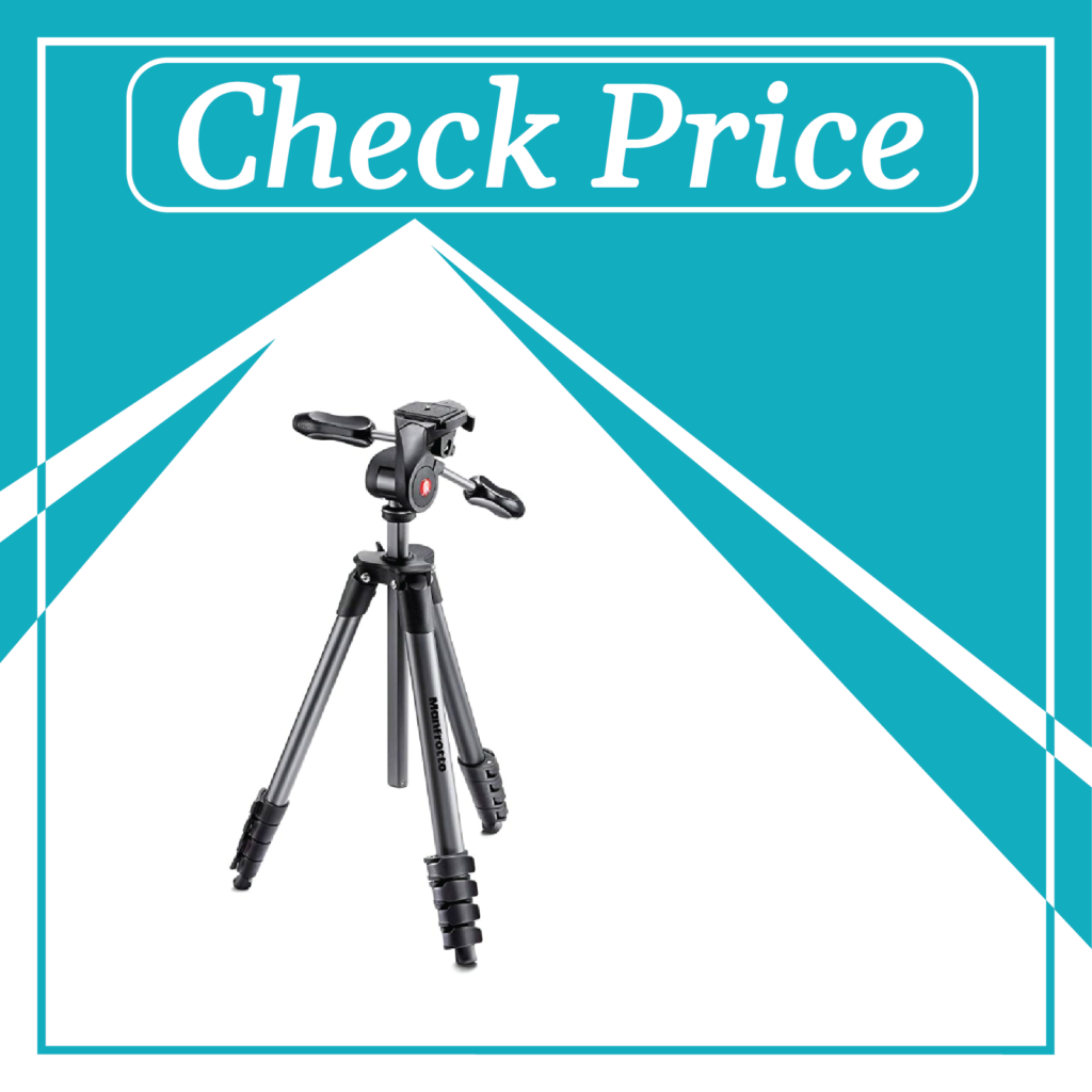 1. Manfrotto Compact Advanced Tripod with Ball Head