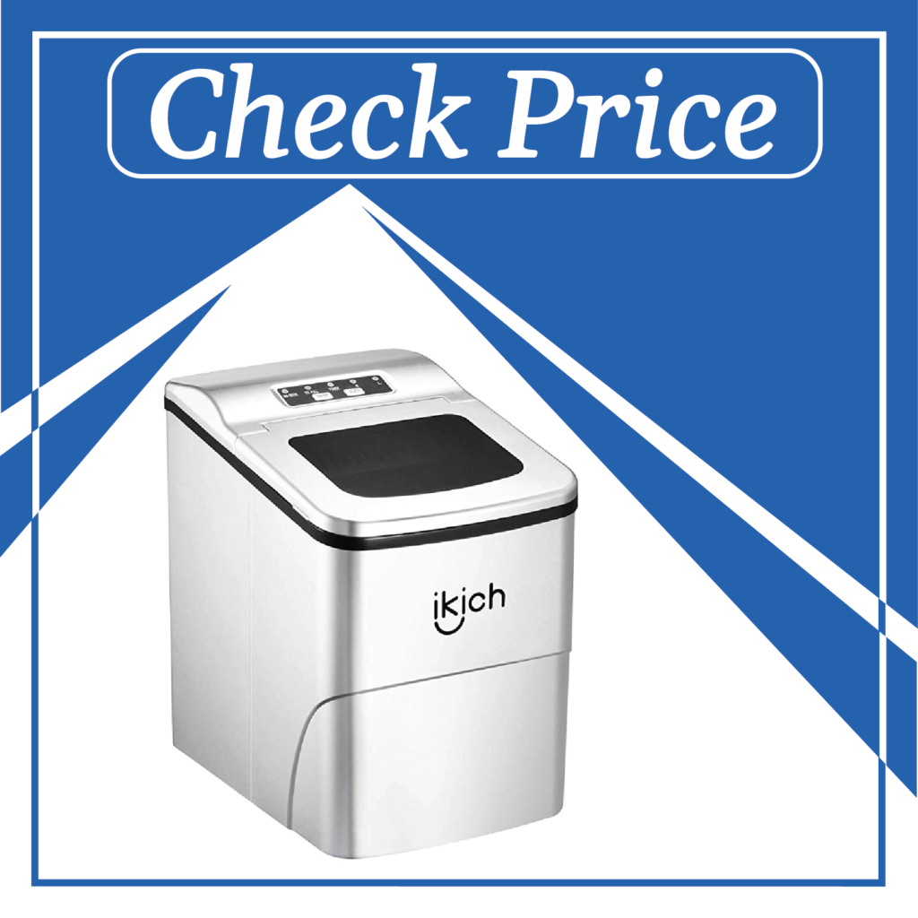 7. IKICH Portable Ice Maker – best countertable ice maker