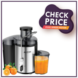 Fruit Juicer, AKZIM Wide Mouth Centrifugal Juicer Extractor