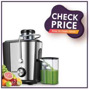 Juicer Machine, Aicook 600W Wide Mouth Juice Extractor Juicers
