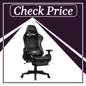 9. Cyrola High Back-Gaming Chair for tall person