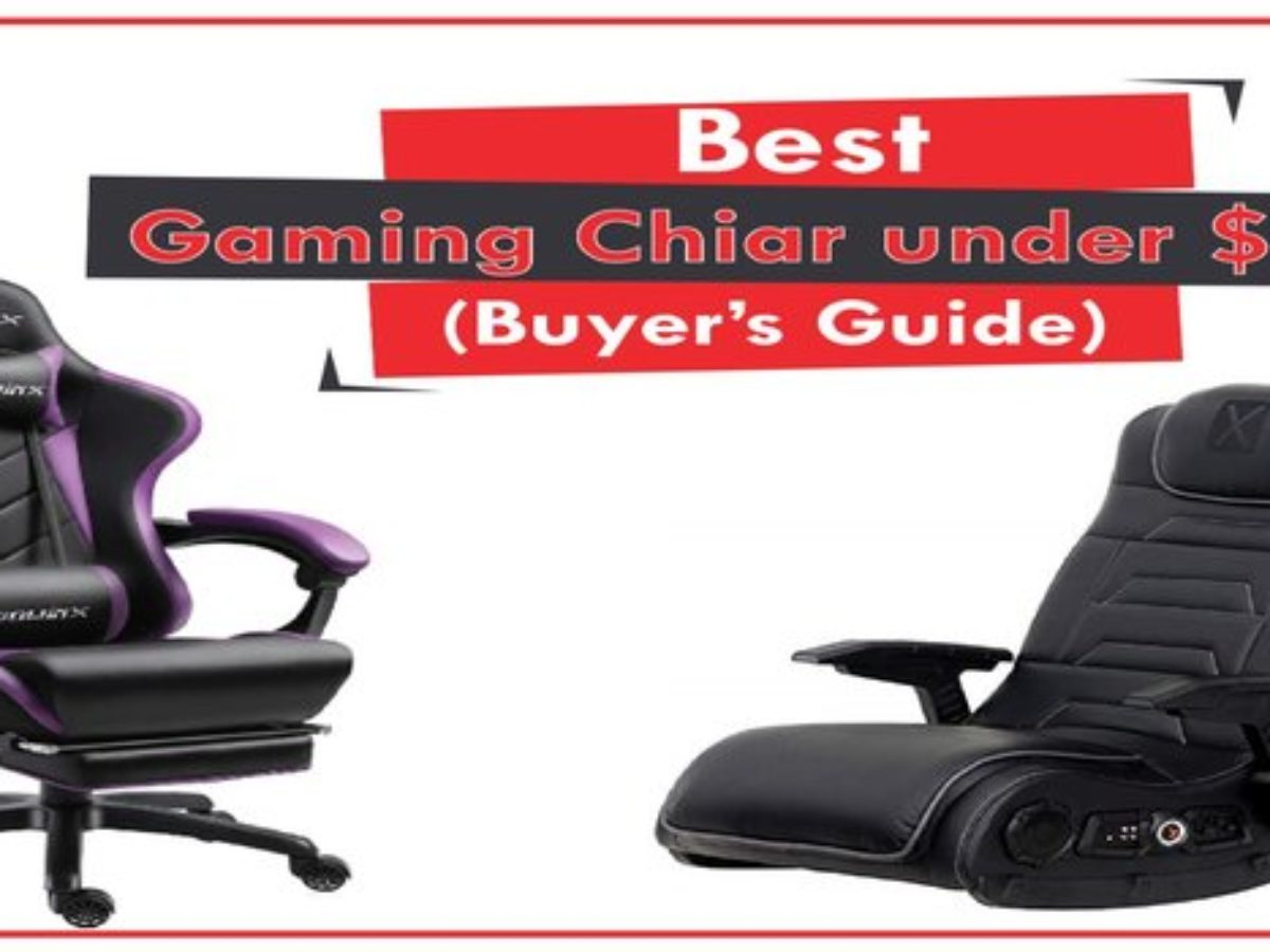 12 Best Gaming Chairs Under 200 To Buy In April 2020 Updated