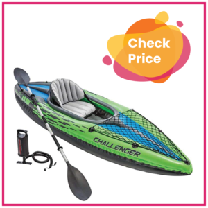 Popular 1 Person Inflatable Kayak for Traveling