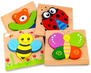 12. SKYFIELD Wooden Animal Puzzles