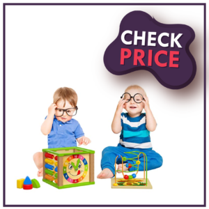 TOYVENTIVE Wooden kids baby active cube