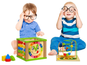 15. TOYVENTIVE Wooden kids baby active cube