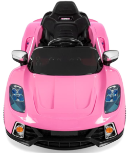 4. Best Choice Products Kids Battery Powered Remote Control Electric RC Ride (Best electric car for girls)