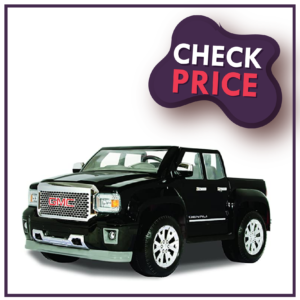 Rollplay GMC Sierra Denali 12 Volt Ride - On Vehicle Best Electric Car As Long As Battery Life Is Concerned