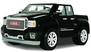 5. Rollplay GMC Sierra Denali 12 Volt Ride-On Vehicle (Best electric car as long as battery life is concerned)