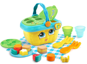 6. LeapFrog shapes and sharing basket for toddler
