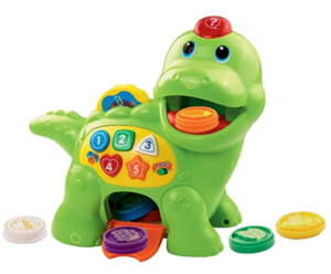9. VTech chomp and count dino
