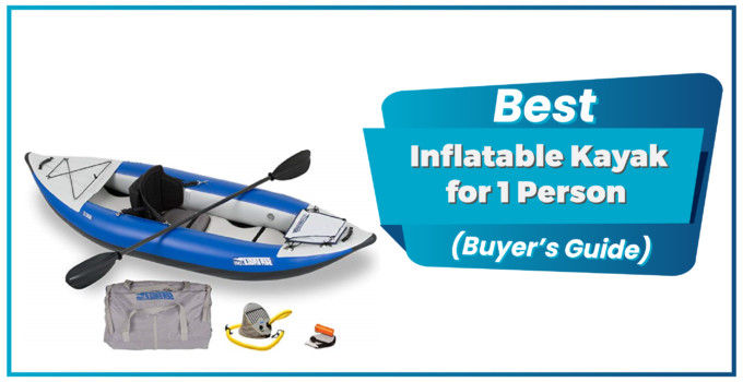 Popular 1 Person Inflatable Kayak 1