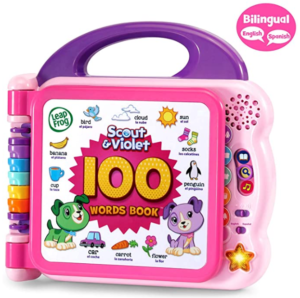 1. LeapFrog Scout and Violet 100 words book