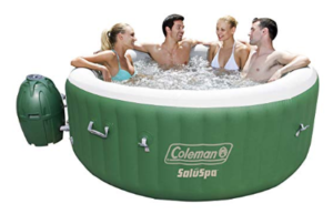 1. Coleman SaluSpa- 4 Person Hot Tube