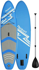 10. FBSPORT 3m PVC Inflatable Stand UP Paddle Board
