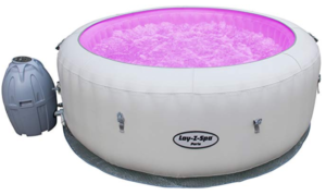 Lay -Z-Spa Paris Hot Tub with LED Lights