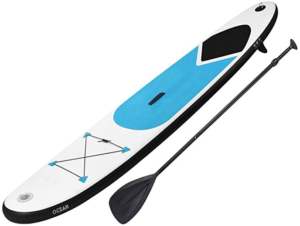 6. GEEZY Inflatable Stand Up Paddle Board