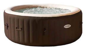 8. Intex PureSpa Inflatable outdoor hot tub