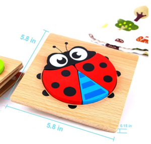 9. SKYFIELD Wooden Animal Puzzles