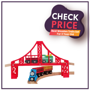 Best Wooden Train Set For 3 Year Old