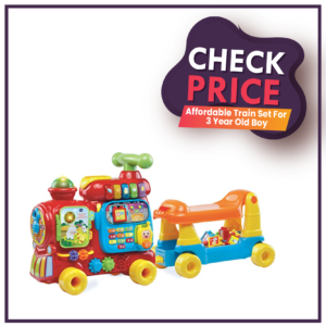 Affordable Train Set For 3 Year Old Boy