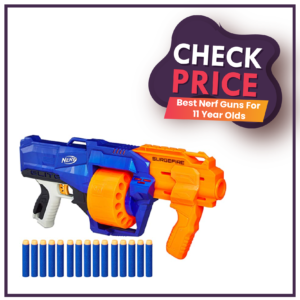 Best Nerf Guns For 11 Year Old's