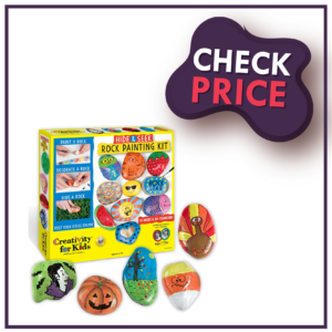 Creativity For Kids - Hide & Seek Rock Painting Kit