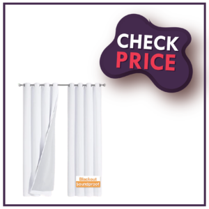 RYB Home 3-In-1 Noise - Blackout Curtains