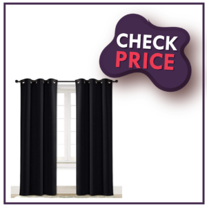 NICETOWN Soundproof Thermal Insulated Blackout Curtain