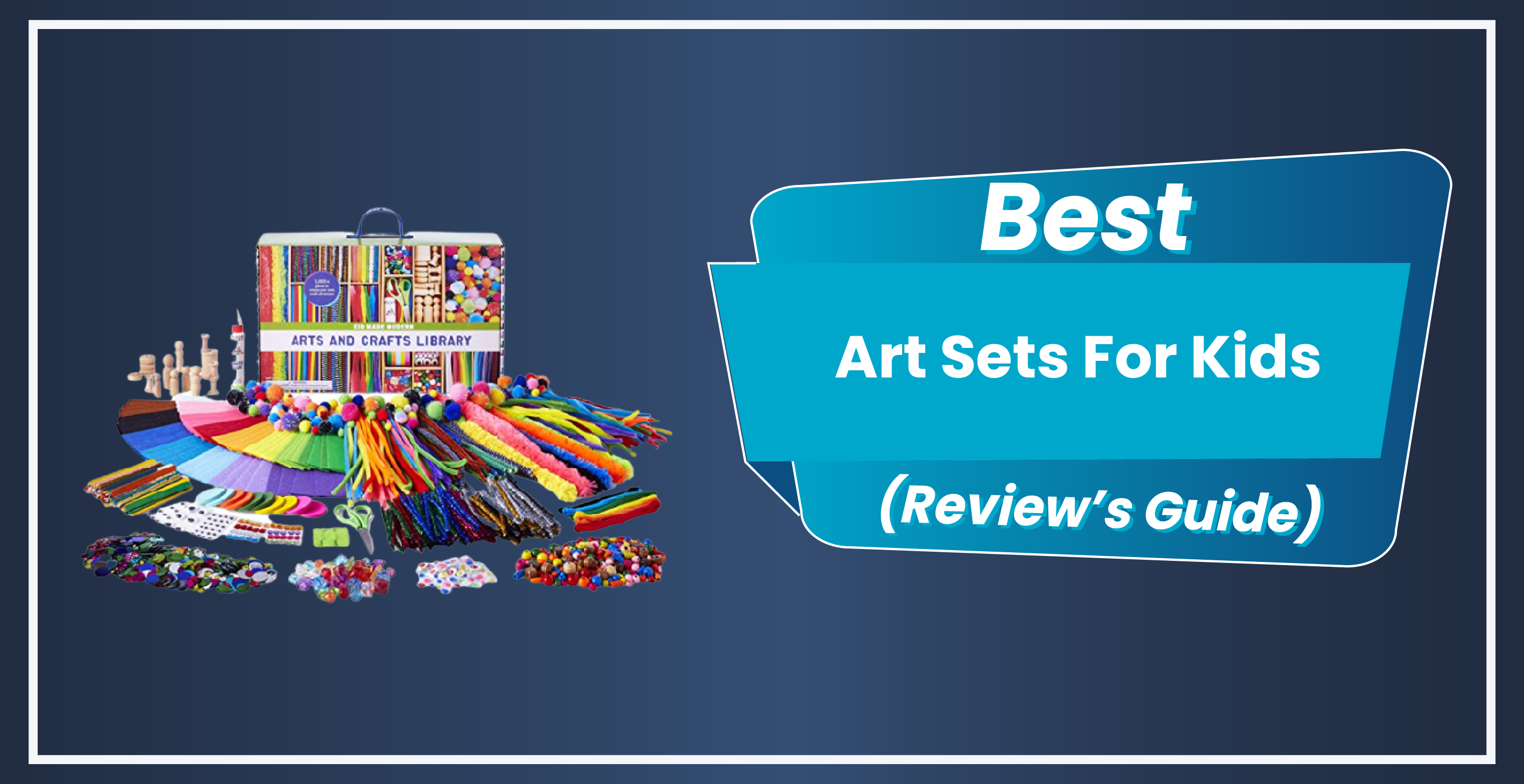 10 Best Art Sets For Kids