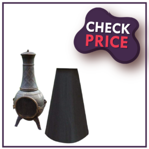 Chiminea Cover Chiminea Protection, Outdoor Chimney Fire Pit Heater Cover