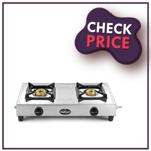 Sunflame Smart Stainless Steel 2 Burner Gas Stove