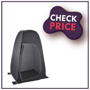 KingCamp Pop Up Dressing Changing Tent