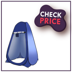 CLICIC Pop Up Privacy Shower Tent Instant Portable Outdoor Shower Tent: