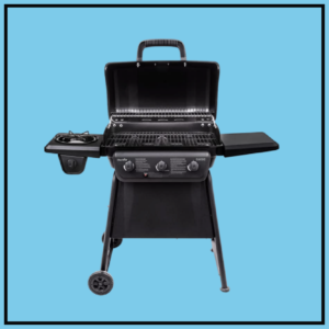 A Smoking Grill Combo: